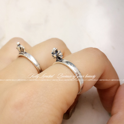 S925 with comfortable cool stereo pendant ring