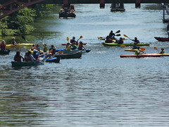 Paddling in Leicester (Thomas Kelly 48) Tags: lumix leicester panasonic riversoar fz150 leicesterriverfestival