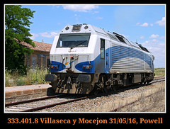 De excursion con la mofletes (Powell 333) Tags: espaa train tren trenes spain railway trains toledo estacion alstom railways estacin sagra maquina mofletes gl castilla mancha ferrocarril renfe castillalamancha adif ffcc operadora 3334 villaseca castillamancha mocejn aislada railr mocejon renfeoperadora 333401 villasecamocejon mquinaaislada maquinaaislada villasecaymocejon villasecaymocejn villasecamocejn