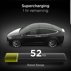 Enjoying Starbucks while recharging the Space Ship. Love the free Supercharger network. #teslamotors #teslamodelx #superchargers
