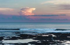 wolkenexplosion (maikepiel) Tags: ocean sunset sea sky bali cloud seascape indonesia dawn evening abend rocks meer colours sonnenuntergang himmel wolke wave welle indonesien farben felsen