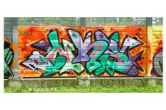 6892 (Massimiliano Fattizzo p.) Tags: street blackandwhite italy streetart milan colors graffiti colours milano colori