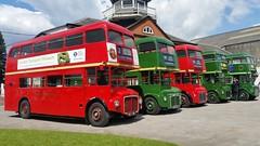 Routemaster Buses (PD3.) Tags: 2 3 bus london buses museum vintage 1 coach 4 transport surrey trust routemaster preserved 56 slt 57 59 preservation rmc psv pcv 58 brooklands rm rm1 2016 aec clt 453 rm2 rm3 rm4 1453 453clt rmc1453 slt58 slt56 rmc4 slt59 lbpt slt57 crl4 cobhaml