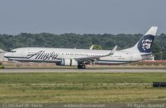 Alaska Airlines Boeing 737-990ER (N471AS) (Michael Davis Photography) Tags: seattle alaska airplane photography nashville aviation flight jet landing boeing runway airliner alaskaairlines jetliner bna b737 boeing737 nashvilletennessee 737900 kbna nashvilleairport as n471as