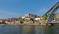 Porto 22 (mpetr1960) Tags: city bridge sky portugal river nikon europe cityscape eu porto cityview d800 nikond800