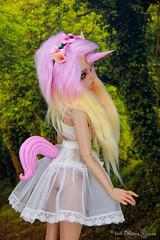 Pink Unicorn Set for MSD (AnnaZu) Tags: pink animal order tail tan part fantasy bjd horn etsy unicorn commission fairyland msd rheia inifee annaku vesnushkahandmade annazu