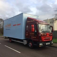 (lewmanuk) Tags: trucks trucking removals coles