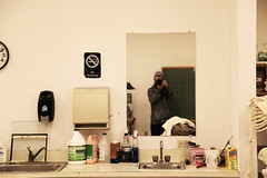 self portrait. (Jacob / Danny) Tags: portrait art self canon mirror counter sink class 5d mark2