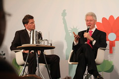 Michael P. Owens, President Bill Clinton (Sustainable_OS_2012) Tags: nyc usa newyork president billclinton greenbusiness sustainableoperationssummit