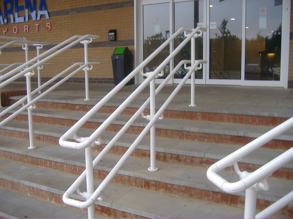 Handicap Handrail Easy To Install ADA Compliant Railing