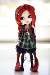 ~Lichi~ (neys.) Tags: blue red green eyes doll dress stock m cm wig pullip 27 haired kirsche lichi obitsu sbhm