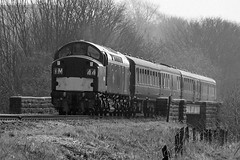 D326 Class 40 (40126) (Ian Gater Photography) Tags: elr 1963 eastlancashirerailway thegreattrainrobbery 40126 d326
