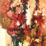 "<b>Summer Garden</b><br/> Mary (Sister) Augustine ""Summer Garden"" Gouache, 1967 LFAC #261  Fine Arts Festival Date: 12-7-67 to 12-16-67<a href=""http://farm8.static.flickr.com/7074/7045834421_e0bdb8471d_o.jpg"" title=""High res"">∝</a>"
