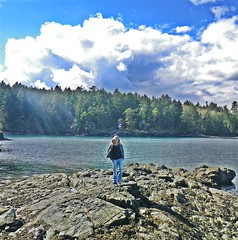 Highlight Of The Day (eddi_monsoon) Tags: ocean sea selfportrait rocks 365 selfie threesixtyfive