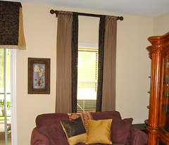 Window dressing (T-Works Interior Decorating) Tags: curtains windowtreatments