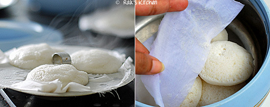 How to make idli step 7