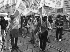 R0011917 (Lorenzo Giunchi) Tags: street city boy party people blackandwhite bw italy music milan building girl italia milano streetparade mayday primomaggio