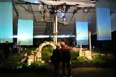 Challenges (Jocey K) Tags: show wood light newzealand christchurch people plants broken church stone display tent blocks flowershow freshstart hagleypark ellerslieinternationalflowershow ellerslieinternationalflower