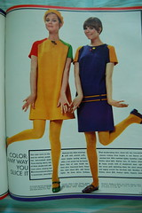 Shocking colors! (<Vicky's Flicks>) Tags: fashion vintage 60s retro 1967 1960s magazines sixties seventeen