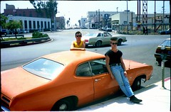 Craig + Marc. Venice Beach. LA (Stu.Brown) Tags: venice usa film beach america la us losangeles unitedstates 1988 80s eighties