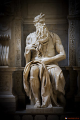 """Michelangelo's Moses • <a style=""""font-size:0.8em;"""" href=""""http://www.flickr.com/photos/89679026@N00/7170560261/"""" target=""""_blank"""">View on Flickr</a>"""