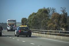California Highway Patrol and Bus (Steven P. Moreno) Tags: california travel news bus us 911 tourist freeway marincounty goldengatetransit marincity emergencyservices californiahighwaypatrol stevenmorenospix lastingimages stevenpmoreno redwoodhighway101