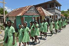 pupils in Cavaillon,Haiti (luca.gargano) Tags: travel haiti caribbean gargano lucagargano ayti