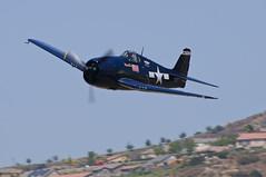 Grumman Hellcat (Trent Bell) Tags: california field airport aircraft elcajon airshow gillespie warbird 2012 hellcat grumman f6f wingsovergillespie