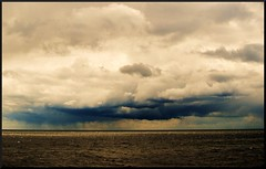 Goodbye Sunshine [EXPLORE] (Marie Granelli) Tags: ocean summer sky water clouds skåne sweden explore trelleborg söderslätt d3000