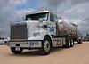 Crude Oil Transport (Chuck Wilson Photo) Tags: truck freightliner crudeoil oilfield tanktrailer transport oilshale shalegas texas canon40d energy