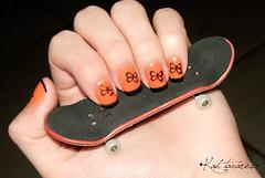 • Inglesinha e Borboleta • (Kah Tavares) Tags: borboleta unhas unha francesinha decorada unhasdecorada