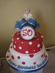 Drummer 50th cake (The4manxies) Tags: birthday cake drum drummer deborah debbie cubbon the4manxies