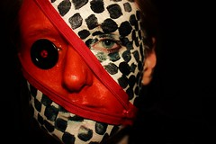 Tim Burton (Anni-Grammy87) Tags: portrait selfportrait face female self canon mask makeup fantasy timburton annigarmmy