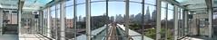 Morgan Bridge Panorama (cta web) Tags: chicago station cta morgan greenline cdot pinkline ctagreenline ctapinkline