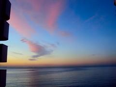 DSC04634 (anny*) Tags: ocean morning blue sea brazil sky beach beautiful clouds sunrise espiritosanto