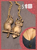 casal corujas (Karina Fou) Tags: bijuteria dourado coruja colar pulseira bazar anel prata cordão anéis brechó raposa prateado corujinha