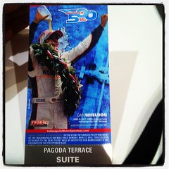 The Hookup #Indy500 #IMS #Pagoda