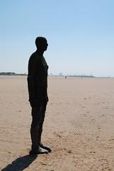 120526 Marple parkrun 179 (Nozza Wales) Tags: uk sculpture men art beach public liverpool place castiron another antony gormley crosby anthonygormley sefton anotherplace