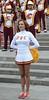 Img284879nx2 (veryamateurish) Tags: london trafalgarsquare cheerleaders band usc universityofsoutherncalifornia girl woman miniskirt