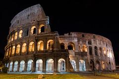 Colosseum at Night [135/366]