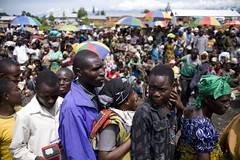 UNHCR News Story: Concern mounts for civilians targeted in North Kivu violence (UNHCR) Tags: news refugees border crowd goma rwanda relief un aid queue unitednations violence uganda information protection assistance unhcr drc ngo displacement newsstory refugeecamp fooddistribution idps extortion civilians gisenyi displacedperson congolese medecines forcedlabour democraticrepublicofthecongo internallydisplacedpeople northkivu southkivu masisi rutshuru walikale internaldisplacement aidorganizations unrefugeeagency centralafricaandthegreatlakes thedemocraticrepublicofthecongo unitednationshighcommissionerforrefugees aidagencies boscontaganda forciblydisplaced thenorwegianrefugeecouncil monusco nkamiratransitcentre forcedrecruitmentofminors unorganizations theinternationalcriminalcourtwarcrimes theunitednationsofficeforthecoordinationofhumanitarianaffairs