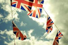 Bunting (spifficalpie) Tags: greatbritain jubilee patriotic flags unionjack 2012 bunting