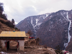 Entrance to Namche. (everytin irie) Tags: nepal namche everestbasecamp namchevdc
