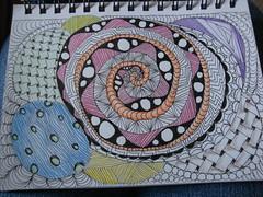 DSC05304 (cchartwick) Tags: art pen ink drawing zen tangle zentangle