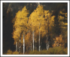 Fall Colors in Cascades - Painting (Paddrick) Tags: art digital painting cascades paintshoppro paddrick paintograph