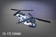 Lego CH-47D Chinook ([Stijn Oom]) Tags: winter dutch army for was chopper lego edited background camo helicopter legos chinook 47 millitary ch47 explored ch47d ambc chinooklego