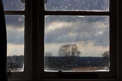 Dirty Windows (Paddy Bartram) Tags: trees light sun window canon photography photo dirty apo attic lightroom sigma70300 canon550d