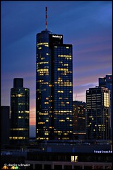 maintower (Charles Schrader - GrandmaProductions) Tags: airport frankfurtmain commerzbank ezb alteoper europischezentralbank petraroth charlesschrader deutschebankskyline