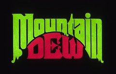 Mountain Dew pitched design (Herb Lubalin Study Center) Tags: logo lettering lubalin