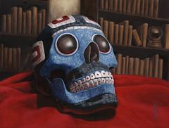 CthulhuLCG-Jeweled-Skull (A L Ashbaugh) Tags: atlanta portrait bird art illustration ink watercolor painting skull acrylic drawing fantasy cthulhu lovecraft octopus ashbaugh alashbaugh